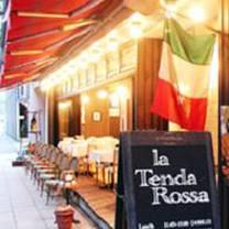 photo of la tenda rossa restaurant