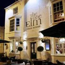 photo of the one elm restaurant