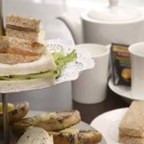 photo of afternoon tea at the cavendish hotel restaurant