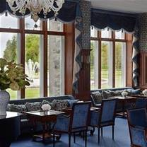 photo of the drawing room at ashford castle restaurant