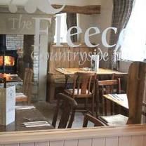 photo of the fleece inn restaurant