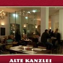 foto van alte kanzlei stuttgart restaurant