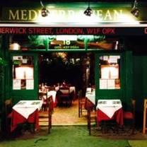 photo of mediterranean café restaurant