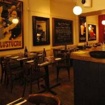 photo of prix fixe brasserie restaurant