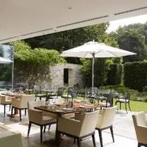 photo of the brasserie at lucknam park restaurant