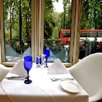 photo of the brasserie restaurant