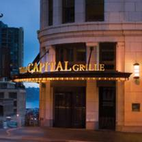 photo of the capital grille - seattle restaurant