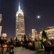 photo of monarch rooftop lounge restaurant