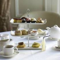 photo of afternoon tea at wivenhoe house hotel restaurant