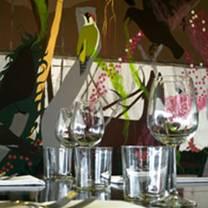 photo of kitchen and bar at tate modern restaurant