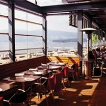 photo of the boathouse at kits beach restaurant