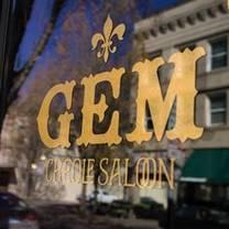 photo of gem creole saloon restaurant