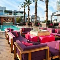 photo of wet deck - w hollywood restaurant