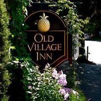 photo of the old village inn restaurant