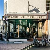 photo of the cambridge chop house restaurant