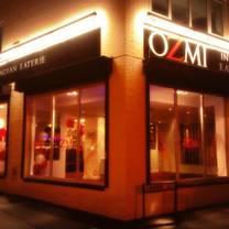 photo of ozmi indian cuisine restaurant