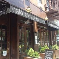 photo of urban vegan kitchen (a.k.a. blossom on carmine) restaurant