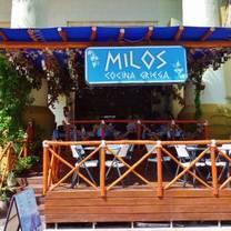 foto von milos restaurant