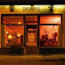 photo of restaurant drogerie restaurant