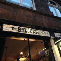 photo of black rose tavern restaurant