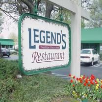 photo of legend's restaurant restaurant