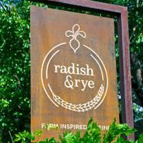photo of radish & rye restaurant
