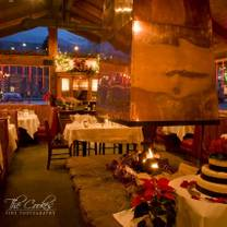 photo of the restaurant at convict lake restaurant
