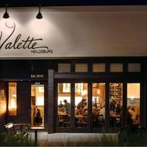 photo of valette restaurant