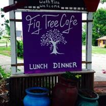 photo of the fig tree restaurant