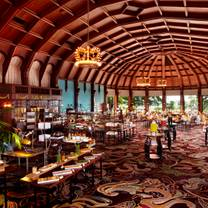 photo of crown room brunch at hotel del coronado restaurant
