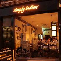 photo of simply indian restaurant