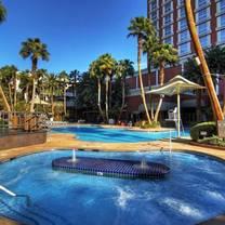 photo of pool & cabanas - treasure island restaurant