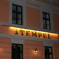 photo of restaurant tempel restaurant