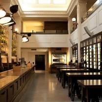 photo of print hall restaurant