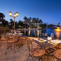 photo of mélange restaurant & bar at the chateau lake la quinta restaurant