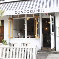 photo of concord hill restaurant