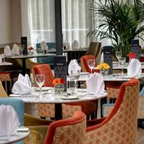 photo of the atrium restaurant at the gonville hotel restaurant