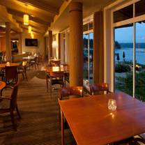 photo of the restaurant at alderbrook restaurant