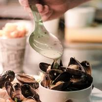 photo of a room in leith seafood and game bistro bar restaurant