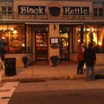 photo of black kettle restaurant