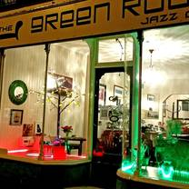 photo of the green room jazz cafe restaurant