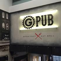 photo of g pub restaurant