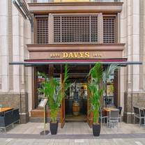 photo of davy's at canary wharf restaurant