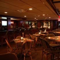 photo of the mahogany room at bar anticipation restaurant