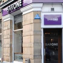 photo of bar one restaurant