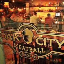 photo of oak city meatball restaurant