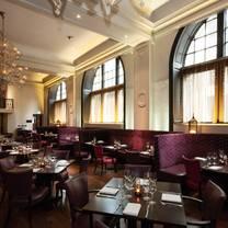 photo of tempus restaurant glasgow restaurant