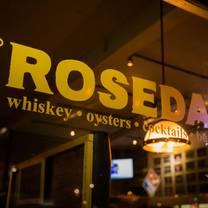 photo of rosedale restaurant
