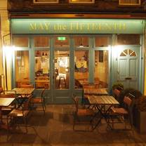 photo of may the fifteenth restaurant