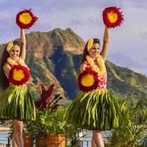 photo of aha'aina luau at the royal hawaiian resort – standard seating restaurant